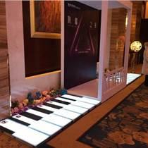LED燈光長條型重力感應彩色發光鋼琴
