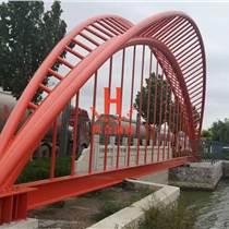 新疆橋梁工程鋼結構管桁架加工