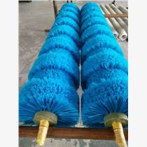 廠家定做工業毛刷輥 尼龍刷毛刷輥滾筒刷植毛式清洗輥刷
