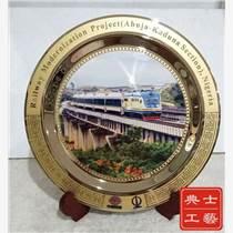 臺州市通車禮品 大橋通車儀式紀念品定制 純銅鍍金紀念
