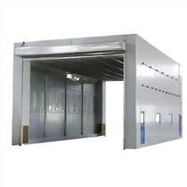 整體移動噴漆房 配催化燃燒凈化設備
