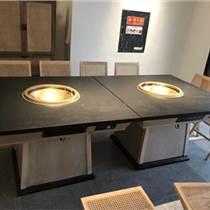 天津廠家定做安裝烤肉店家具 火鍋店桌子椅子