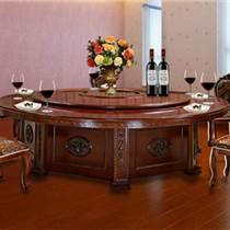 天津餐廳家具定制 火鍋店桌椅實木 飯館實木桌椅