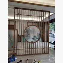 天津新中式實木屏風  隔斷客廳臥室遮擋屏風