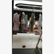 服裝衣物直播間電動旋轉服裝衣物展示架
