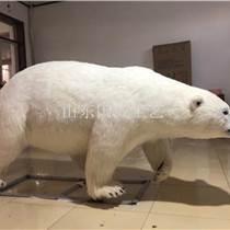 租賃仿真北極熊展覽模型