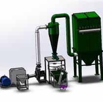 塑料磨粉機帶物料降溫系統