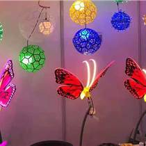 上海幕明蝴蝶裝飾燈景區公園亮化動態仿真景觀燈