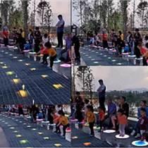 上海幕明廠家定制跳跳泉,廣場公園水景引流交互裝置