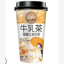 黑糖紅棗牛乳茶85g/杯味道好配料足廠家直招代理