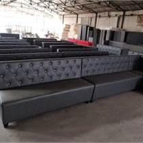 天津卡座桌椅組合定制 特價卡座沙發