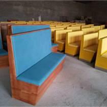 天津奶茶店沙發 西餐廳卡座沙發 咖啡廳沙發