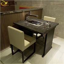 天津廠家供應烤肉桌子 現代簡約大理石燒烤桌子
