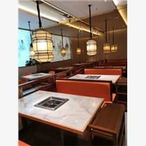 天津工業風餐桌餐椅定制 鐵藝燒烤桌椅組合