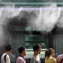公交站BRT噴霧降溫設備智能控制系統設計安裝