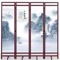 天津廠家定做各種屏風客廳進門屏風  折疊式移動屏風