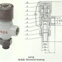 彈簧式外螺紋安全閥A21H(Y)-永一安全閥廣東廣州