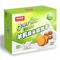 羊鮮乳猴頭菇餅干400g四季香批發零售