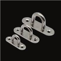 不銹鋼304 316橢圓形門扣 鎖扣搭扣吊扣眼板 船