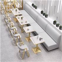 領漢家具定做L26甜品店沙發卡座,尺寸簡單闡述