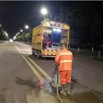 常見的南京道路劃線-水除線施工除線方法