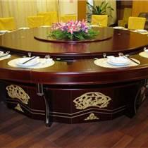 天津3米20人位自動旋轉餐桌 酒店圓桌規格 圓桌尺寸