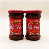 加工定制炒菜下飯辣椒醬 剁椒魚頭香辣椒醬 手抓餅醬料
