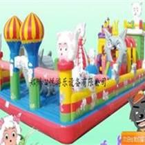新款喜洋洋系列大型儿童充气城堡热销中