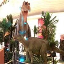 大型商业展恐龙蜡像出