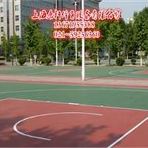供应浦江塑胶篮球场施工材料
