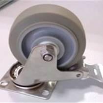 供應中型304不銹鋼TPR腳輪