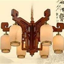 紅木云石燈 實木吊燈 紅木燈飾