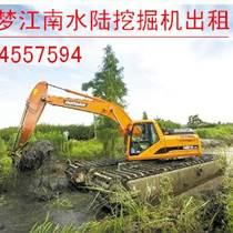 湿地挖掘机租赁  租赁水陆挖掘机