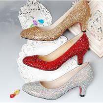 制鞋廠定做各類高端真皮歐美女鞋