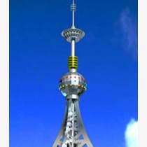 40米樓頂裝飾避雷塔施工圖