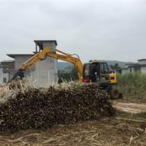 山东宝鼎蔗木装卸机WYL95-7热销各地甘蔗种植区