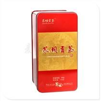 貢茶鐵盒包裝設計 鐵質茶葉盒