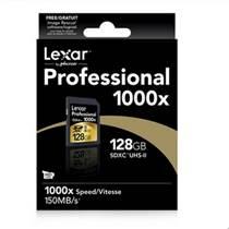 雷克沙 Lexar SD 64G 1000X 150m/s 相机存储卡