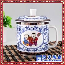 高檔彩繪陶瓷茶杯 陶瓷茶杯廠家定制