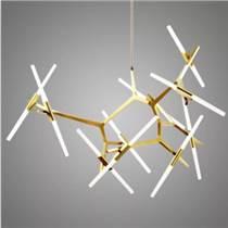 北歐意大利Roll Hill 樹杈餐客廳復式別墅人字吊燈