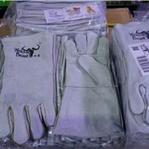 焊獸牌 4150C 皮質勞保電焊手套 保護手套 焊工手套