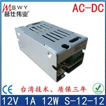 12V1A開關電源 12V12W開關電源 監控/燈串/燈帶/馬達/電機/電瓶/工業/機械/設備/模組