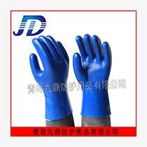 廠家供應九鼎恒遠浸膠磨砂防滑耐油耐酸堿防護手套