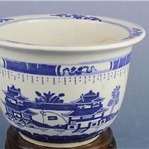 陶瓷粉彩花盆 陶瓷經典擺設花盆