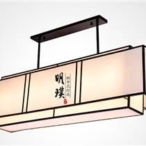 明璞现代中式吊灯 铁艺中式吊灯代理加盟