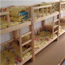 實木幼兒園床 雙層床 午休床