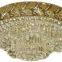 現代簡約聚寶盆圓形不銹鋼客廳燈