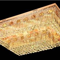 歐式LED水晶客廳吸頂燈臥室燈