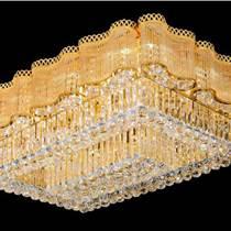 LED客廳燈具水晶燈長方形吸頂燈