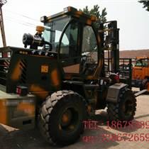 5噸叉車泥濘路專用越野叉車山東中首重工生產